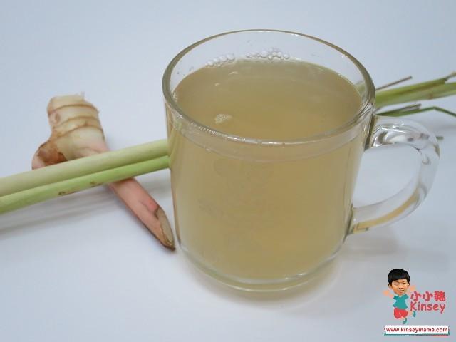 湯水分享:香茅南姜茶