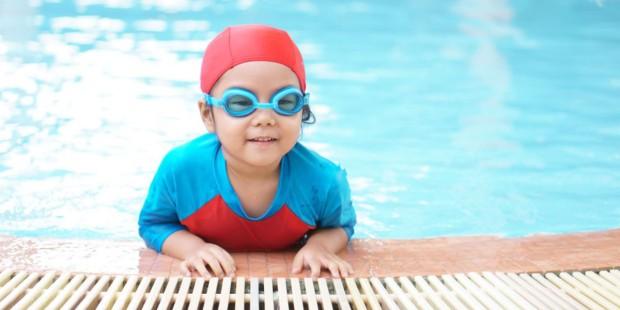 游泳是增強孩子免疫力的最有效方式之一!
